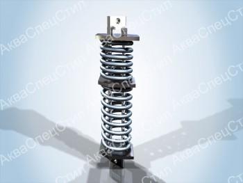ОСТ 108.275.59-80 Блок пружинный сдвоенный для подвесок трубопроводов ТЭС и АЭС