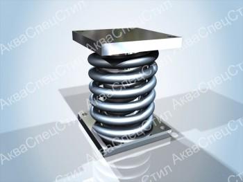 ОСТ 108.275.69-80 Блок пружинный для опор трубопроводов ТЭС и АЭС